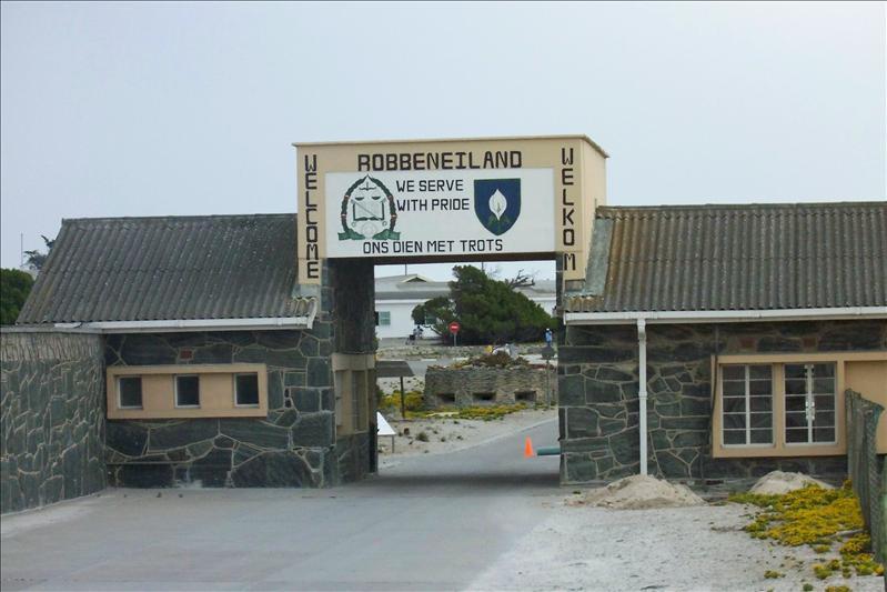 Robben Island (Prison durant l'apartheid)