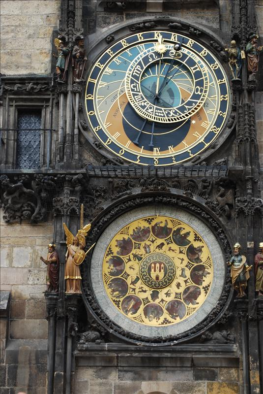 Astronomic CLock, Prague, CR