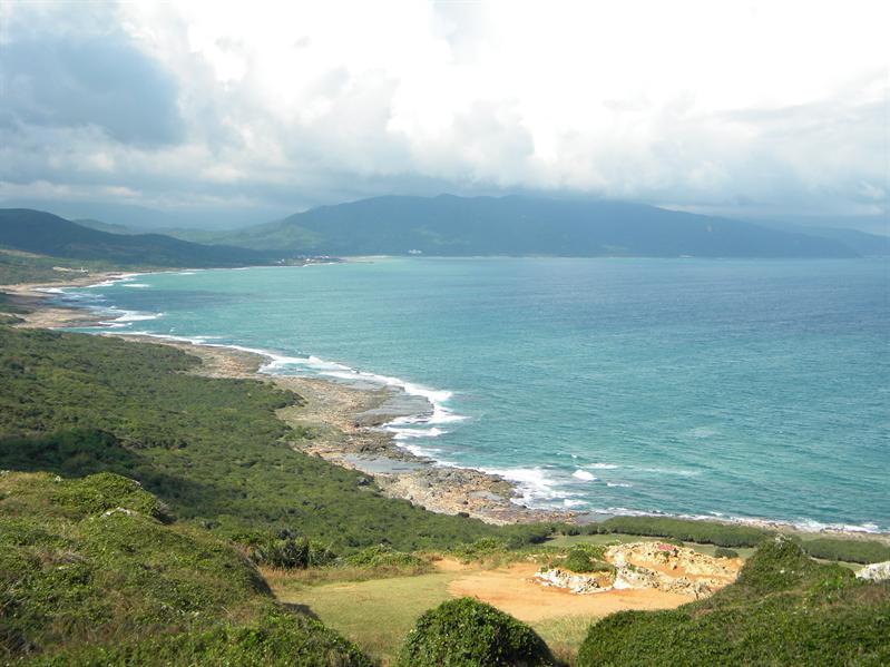 墾丁崩崖(太平洋海岸景)
