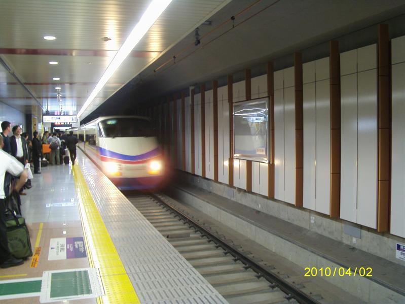 成田機場往上野的skyliner