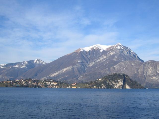 Bellagio seen from Fiumelatte