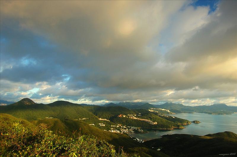 釣魚翁、上洋山及相思灣一帶