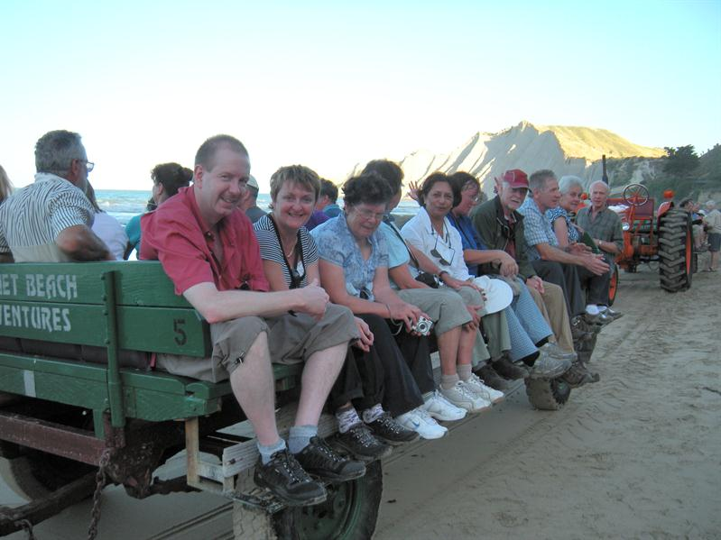 More fellow travellers on the gannet beach adventure