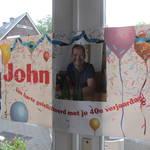 John 40 jaar eten bij Jackies NYCuisine