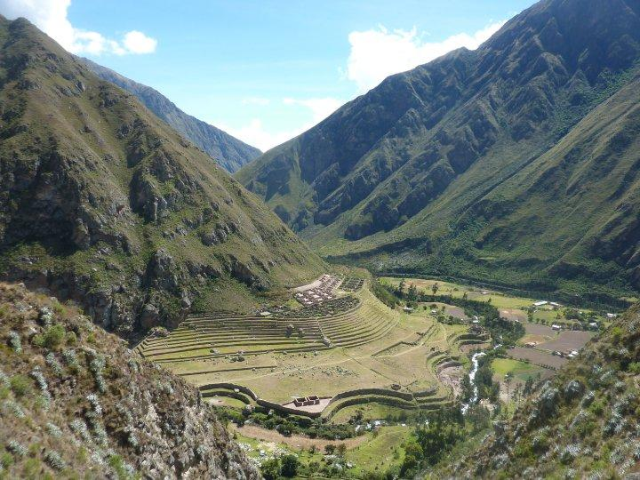 cant remember the name, but one of the incan ruins on inca trail
