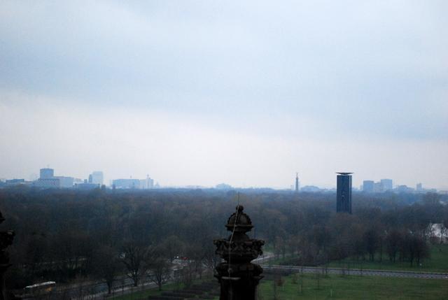 Looking over Tiergarten