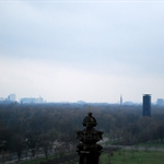Looking over Tiergarten