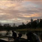 BBQ by the Yarra River