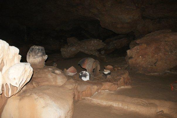 The cave is basically a 'living museum'