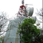 西灣炮台山上的無線電站