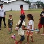Kids taking part...
