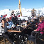 Skiing from Reberty 2012