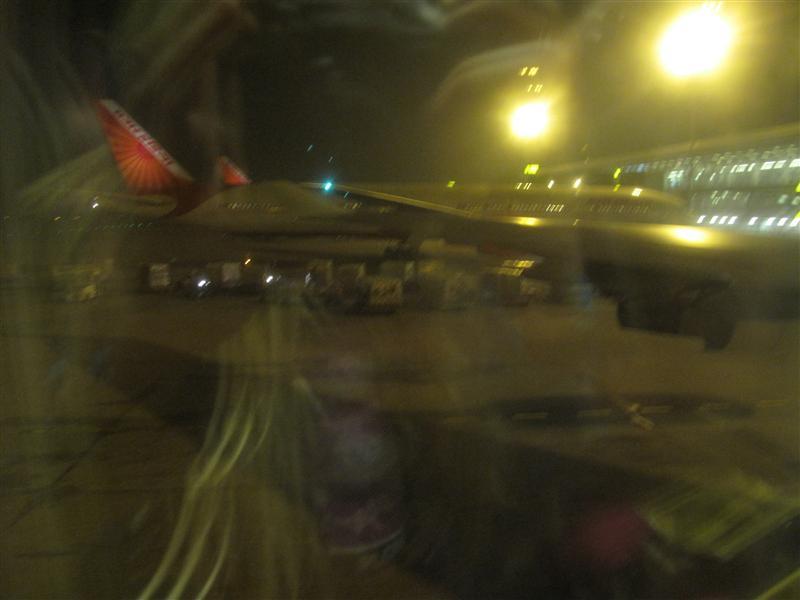Delhi landing