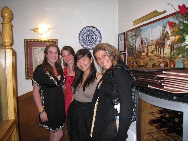 Meaghan, Lisa, Jen, Frankee