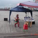 日月潭畔唱歌的女孩