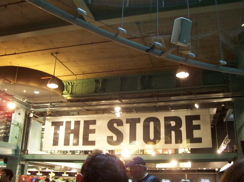 THE STORE at the Guinness Storehouse.