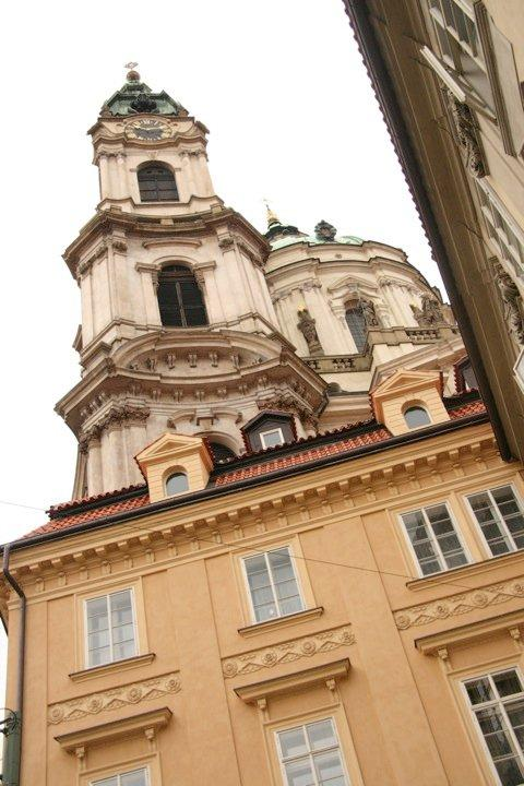 The Baroque Bell Tower of St. Nicholas Church