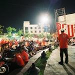 Red Shirt Mob at the Democracy Monument in Bangkok