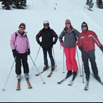 The Skiing Quartet
