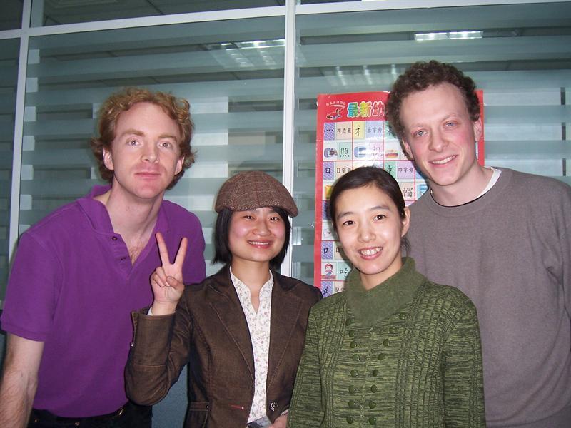 Me, Li Na, Lucy, Nat
