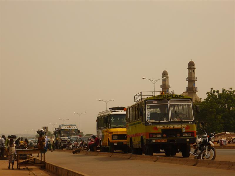 Tamale - street impression