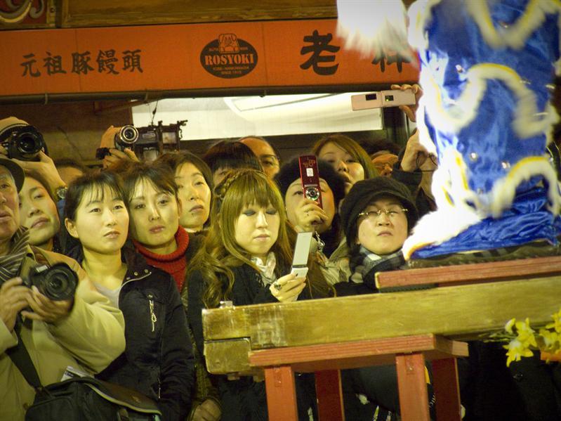 Lion Dance in Kobe China Town