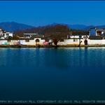 宏村南湖全景