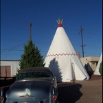 we woke up in the morning from our tepee ready to head home