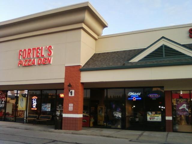 Fortel's Pizza Den off Vogel Road, Arnold, Mo. near Target