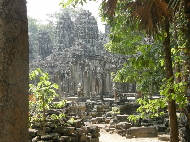 More of the Bayon.