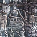 BAS RELIEF, THE BAYON