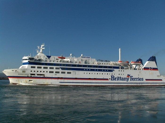 Off on the Barfleur. We are on the rails ...