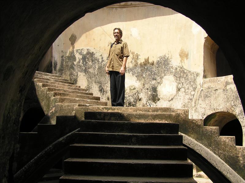 Under ground mosque, Yogyakarta