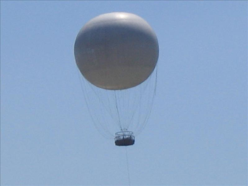 Balloon Over Niagara Falls 2