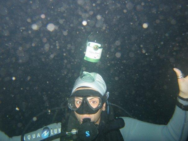 underwater street preformer