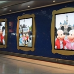 HK Disney store. My whole transfering time is spenting at here.