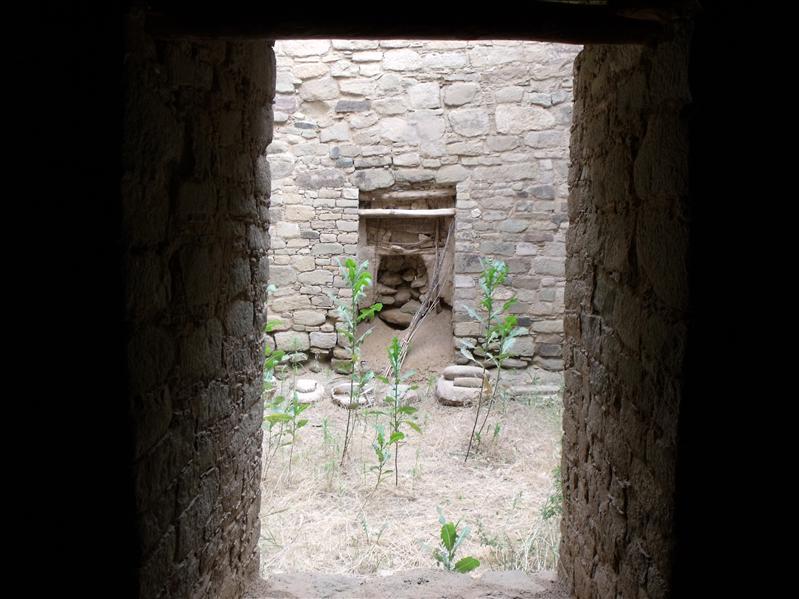 Doorway through each room