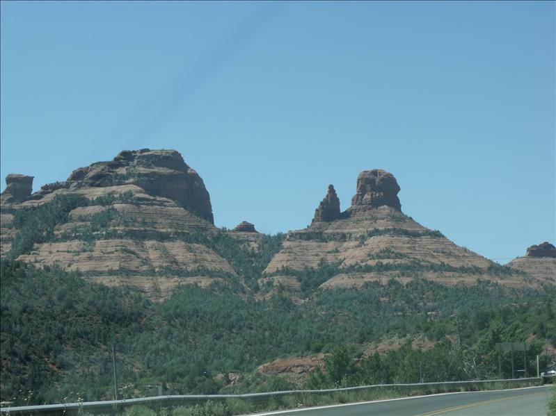 Arriving into Sedona