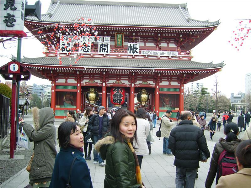Kimiko•Mariko•Sensoji Temple•Tokyo