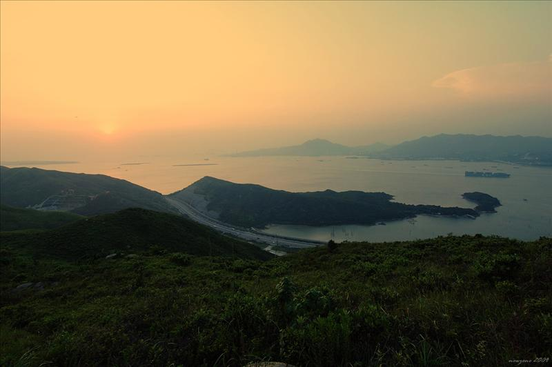 Sunset at Yam O 陰澳日落