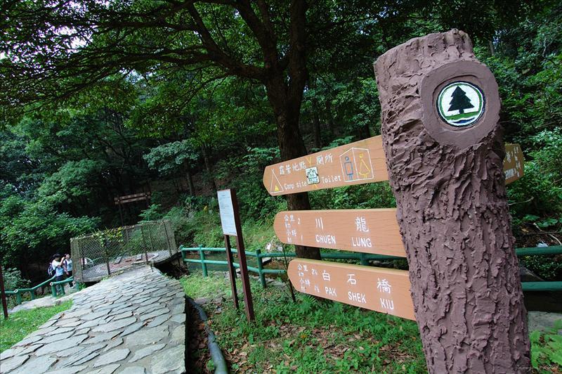 Start at Tsuen Kam Au 荃錦坳起步