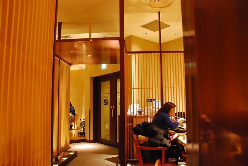 選定一家全日文菜單的日式店