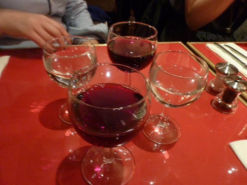 Dinner at Les Belles Miettes (10/30)