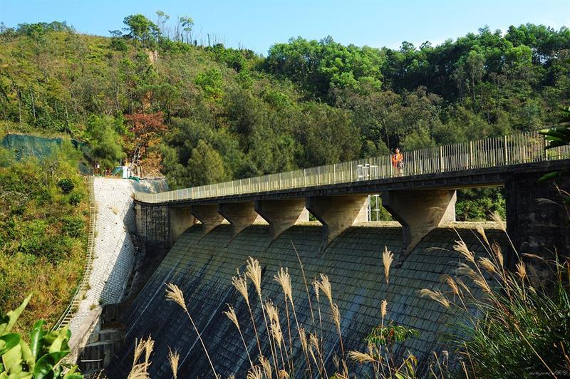 黃泥墩水塘堤壩