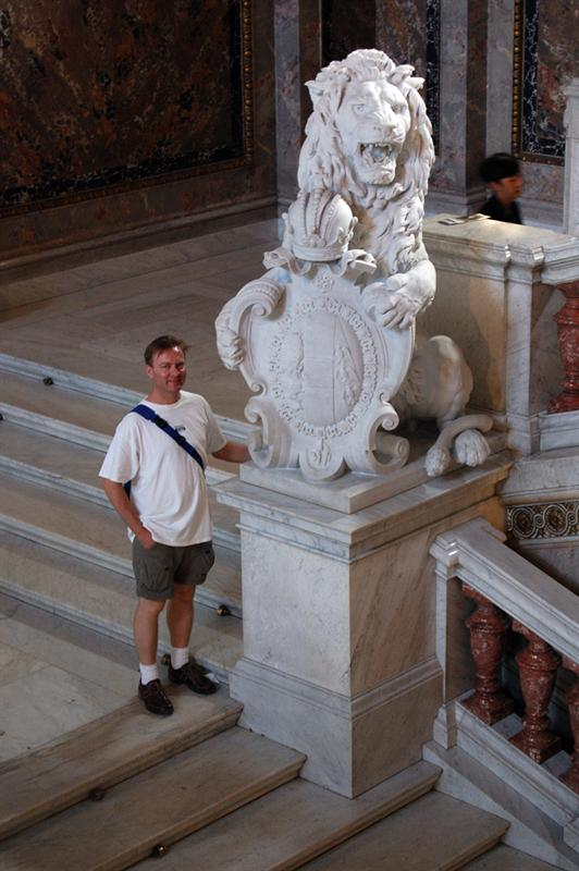 Matt at National Museum: Vienna