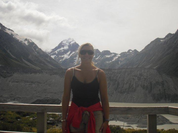 Found it! Mt cook...somewhere in the background!