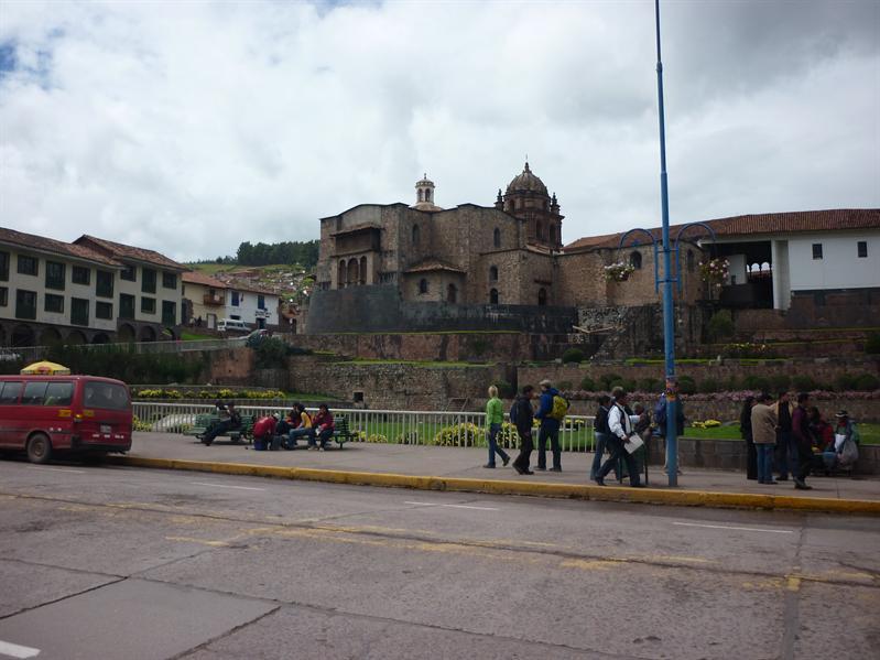 Walking around Cusco...