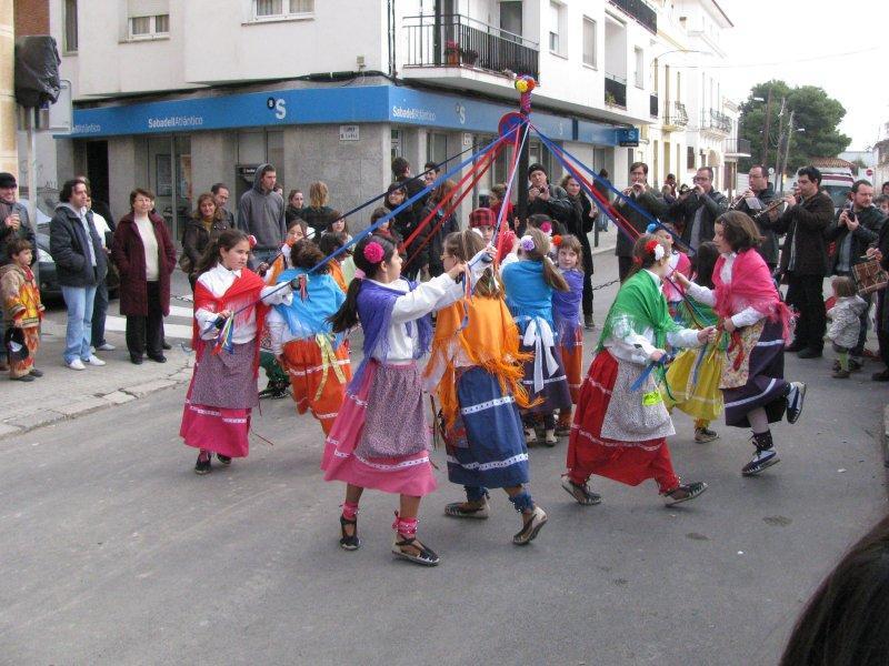 .... and English maypole dancing.