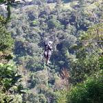 Ziplining in the Cloud Forest, Monteverde, Costa Rica