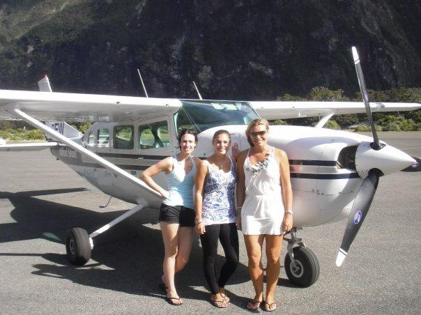 Our personal plane!